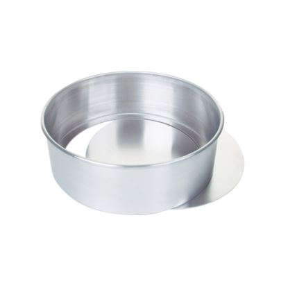 Picture of Aluminium loose base cake tin  - 10in