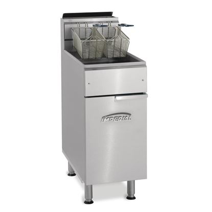 Picture of Imperial Single Tank Twin Basket Natural Gas Fryer
