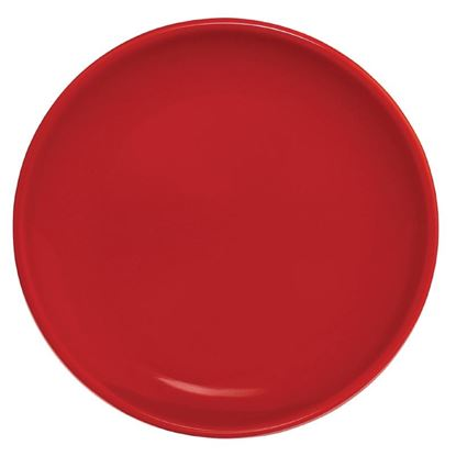 Picture of Olympia Cafe Coupe Plate Red 205mm