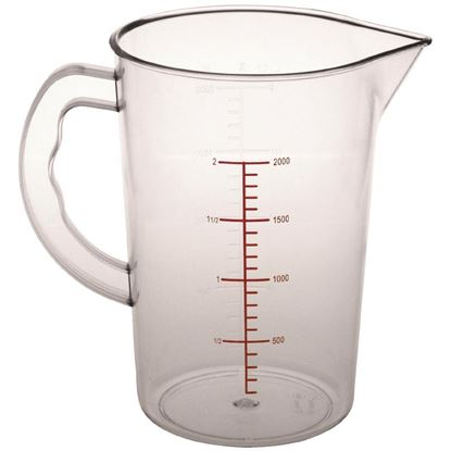 Picture of Polycarbonate Measuring Jug 2L Clear