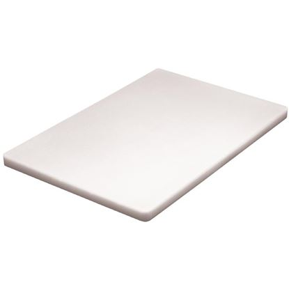 Picture of Low density chopping board  - White
