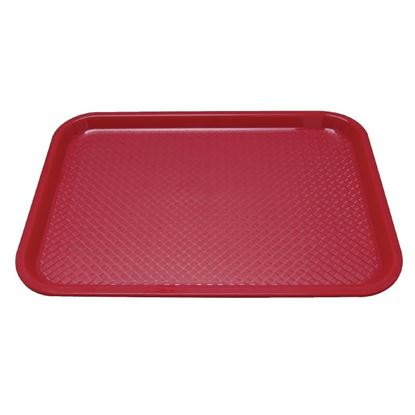 Picture of Kristallon Foodservice Tray - Red 345 x 265mm