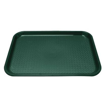 Picture of Kristallon Foodservice Tray - Green 345 x 265mm