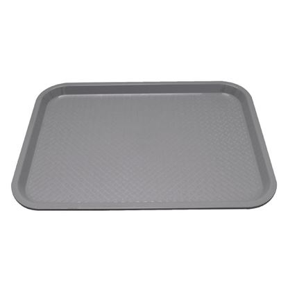 Picture of Plastic Fast Food Tray Grey Small