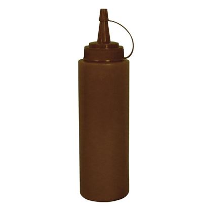 Picture of Vogue Brown Squeeze Sauce Bottle 8oz
