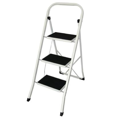 Picture of Folding Step Stool, 3 Tread