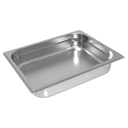 Picture of Vogue HD Stainless Steel 1/2 Gastronorm Pan 40mm
