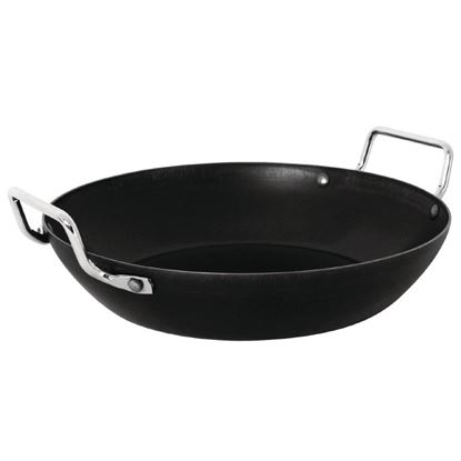 Picture of Vogue Black Iron Paella Pan 400mm