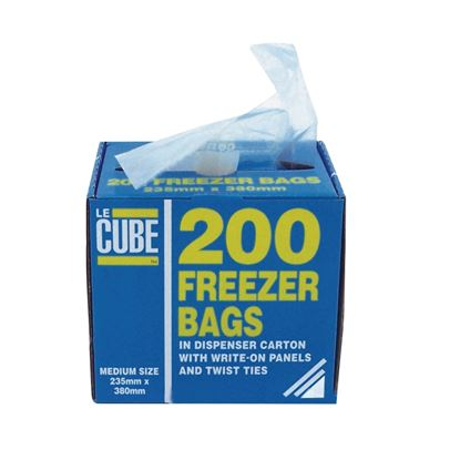 Picture of Freezer Bags 235x380mm (200)