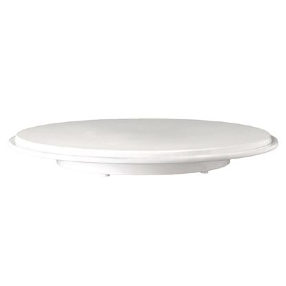 Picture of APS Pure white cake platter 310mm dia