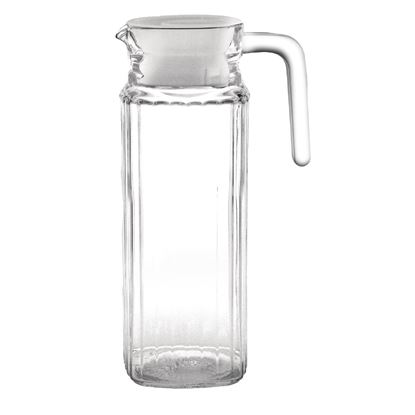 Picture of Olympia ribbed glass jugs 1L  - Pk 6