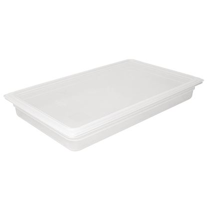Picture of Vogue Polypropylene 1/1 Gastronorm Container 150mm