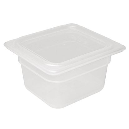 Picture of Gastronorm Container 1/6 Size with Lid 100mm