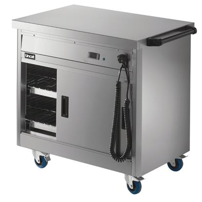 Picture of Lincat Panther 670 Series Hot Cupboard with Plain tops P6P2