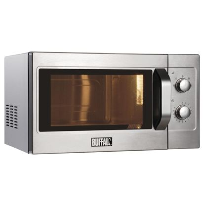 Picture of Buffalo Manual Commercial Microwave 1100W