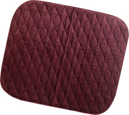 Picture of Velour Floorpad 90 x 135 - Maroon