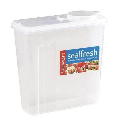 """Picture of Seal Fresh Cereal Container 3.5 x 8.5 x 11.25"""""""