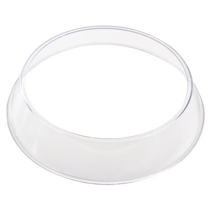 "Picture of Plastic Plate ring 8.5"" dia (plate cover supplied sep)"