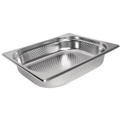 Picture of SS Gastronorm pan 65mm 1/2 Sz