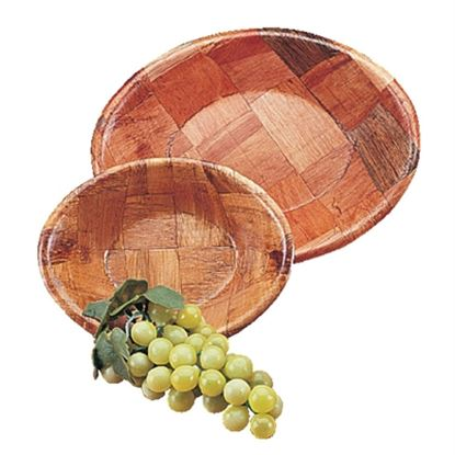 Picture of Oval Wooden Bowl Large