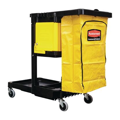 Picture of Cleaning Trolley with Vinyl bag