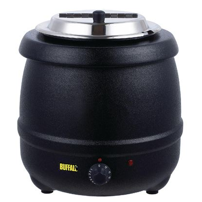 Picture of Buffalo SS Soup Kettle 10Ltr - BLACK