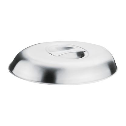 """Picture of Oval 12"""" Vegetable Dish Lid"""