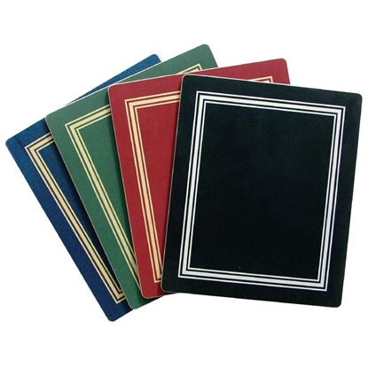 Picture of Melamine Place Mat Burgundy 298mm x 222mm