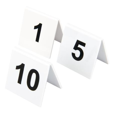 Picture for category Table Numbers