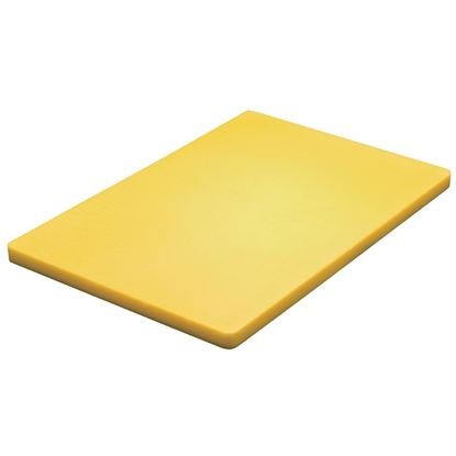 Picture of Low density chopping board  - Yellow