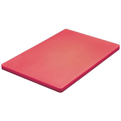Picture of Low density chopping board  - Red