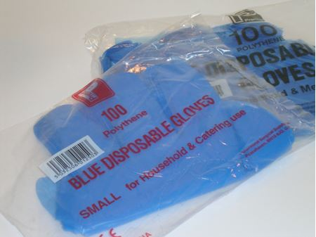 Picture for category Blue Polythene Gloves