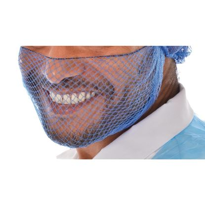 Picture of Beard Snood Light Blue Pk50