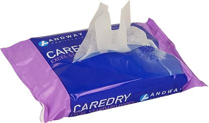 Picture of CAREDRY Excel Standard Wipe Flat Pack (32 packs of 100)