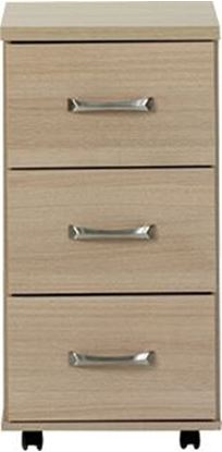 Picture of VIRGO 3 Drawer Bedside Cabinet with lock to top drawer