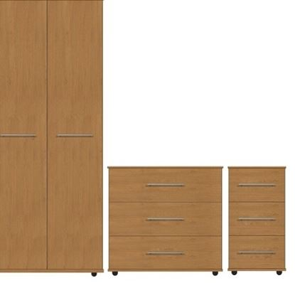 Picture of VIRGO Bedroom Furniture Set (Bedside Not Lockable)