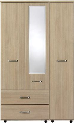 Picture of VIRGO 3 Door robe with 2 LH side bottom drawers