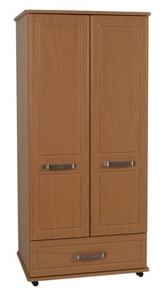 Picture of AURIGA 2 Door Robe with single bottom drawer