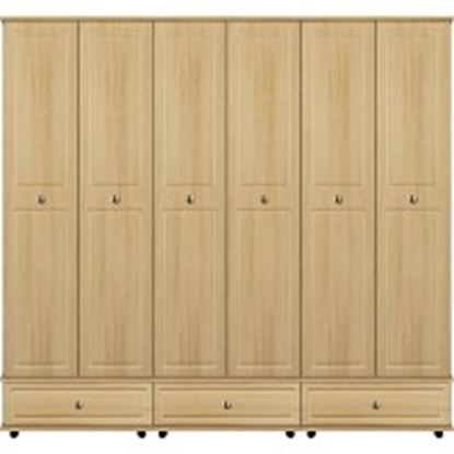 Picture of Virgo extra high with 3 x double drawers