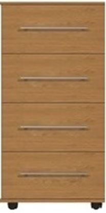Picture of VIRGO 4 Drawer Midi Chest