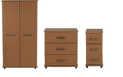 Picture of AURIGA Bedroom Furniture Set with Lockable Bedside Cabinet
