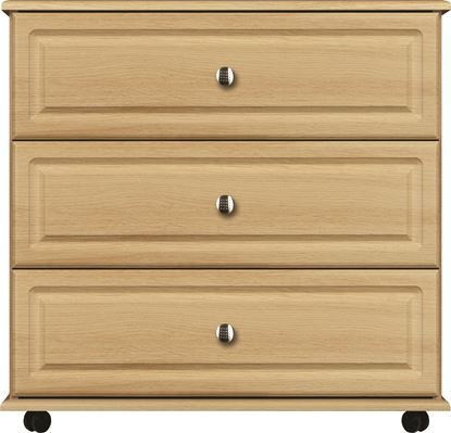 Picture of ANTLIA 3 Drawer chest wide with Rounded Top