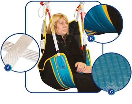 Picture for category Toileting Hammock Sling with Loops