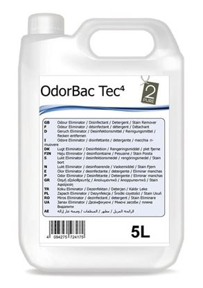 Picture of Odour Bac Tec 4 Multipurpose Cleaner - Unfragranced (5L)