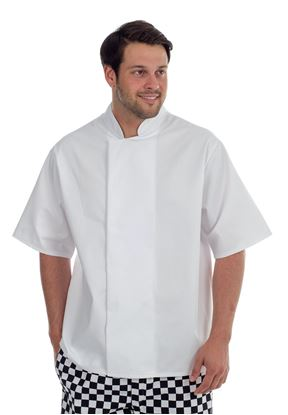 Picture of Chefs Jacket with Mesh Back - White