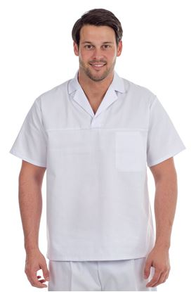 Picture of Hygiene Smock Polycotton - White