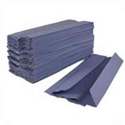 Picture of PURE Interfold Hand Towel - Blue (3600)