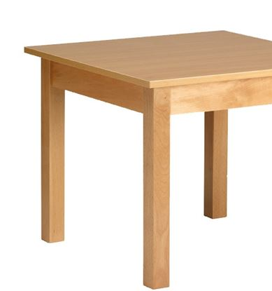 """Picture of Square Dining Table, 39"""""""