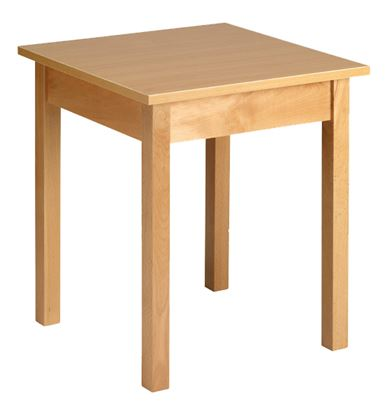 """Picture of Square Top Dining Table, 30"""""""