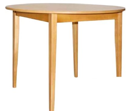 """Picture of Round Top Dining Table, 36"""""""